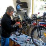 Henk en maintenance sur l'Explorer - 2009