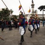 Plaza Grande, relève de la garde