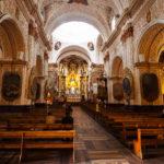 Les dorures de l'église de la Merced