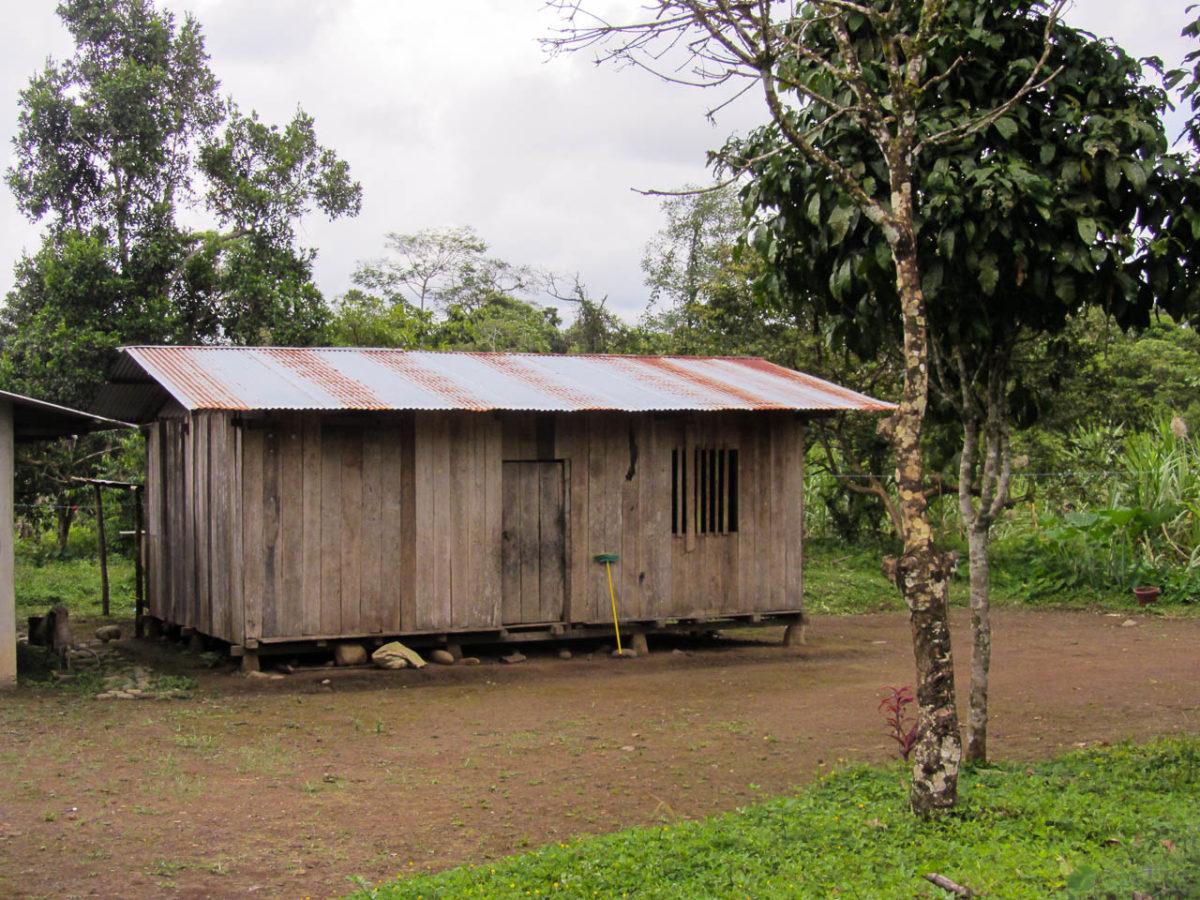 Cabane typique de l'Oriente