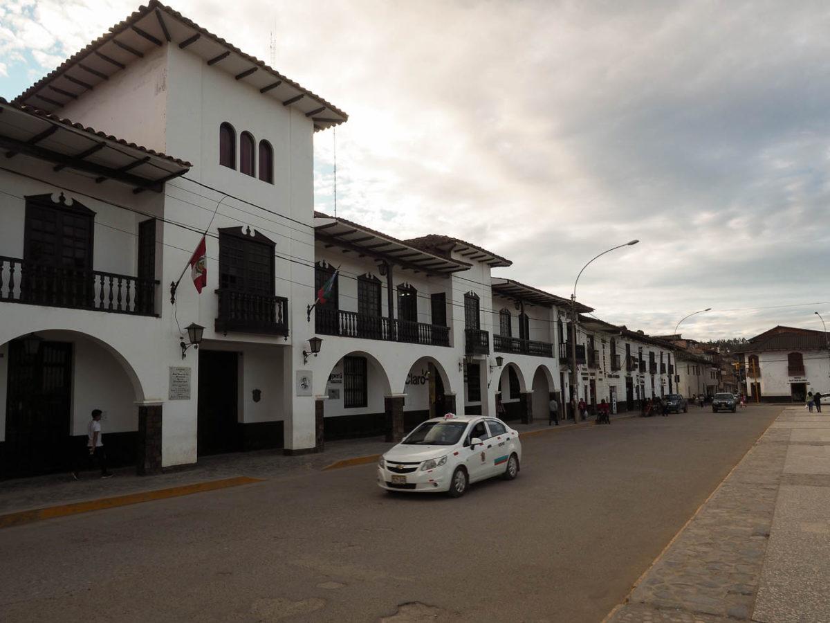 Chachapoyas, la plaza de armas