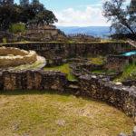Ruines des habitations