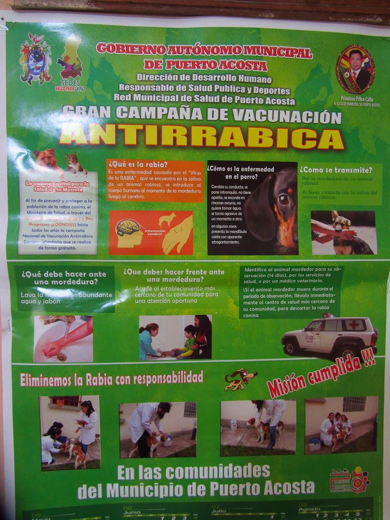 Campagne de vaccination anti rabique