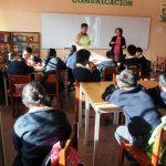 Discussion avec les élèves