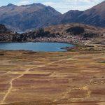 Village d'Acopia en bordure de lagune