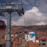 La ligne rouge menant à El Alto
