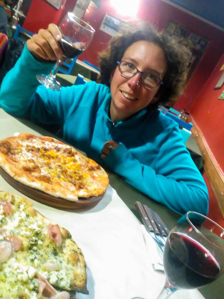 Pizza pinard !