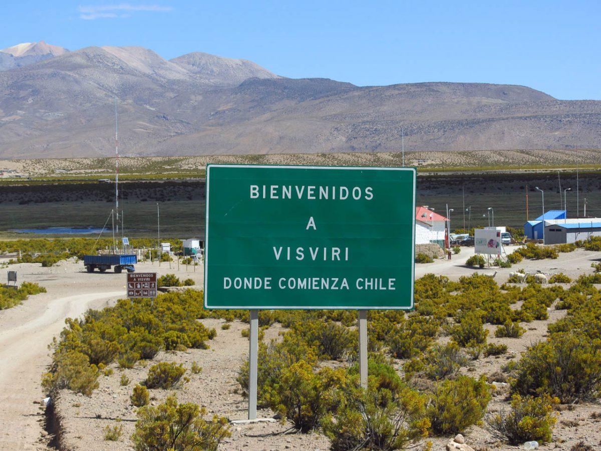 Nous voilà au Chili