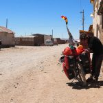Ravitaillement à Charaña à la frontière