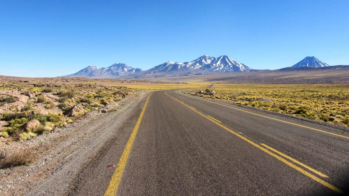 Ambiance route de désert...