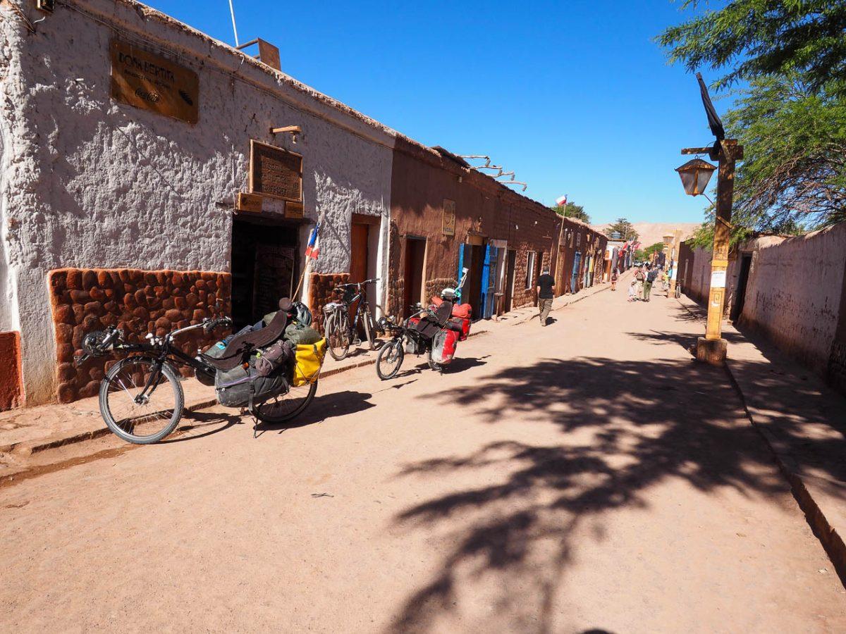 Prêts à quitter San Pedro de Atacama