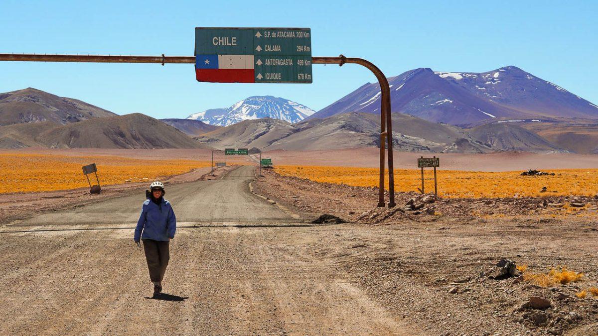 Nous tournons le dos au Chili,  hola Argentina !