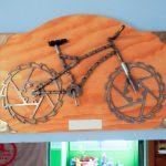 La déco de la Casa del Ciclista, San Antonio