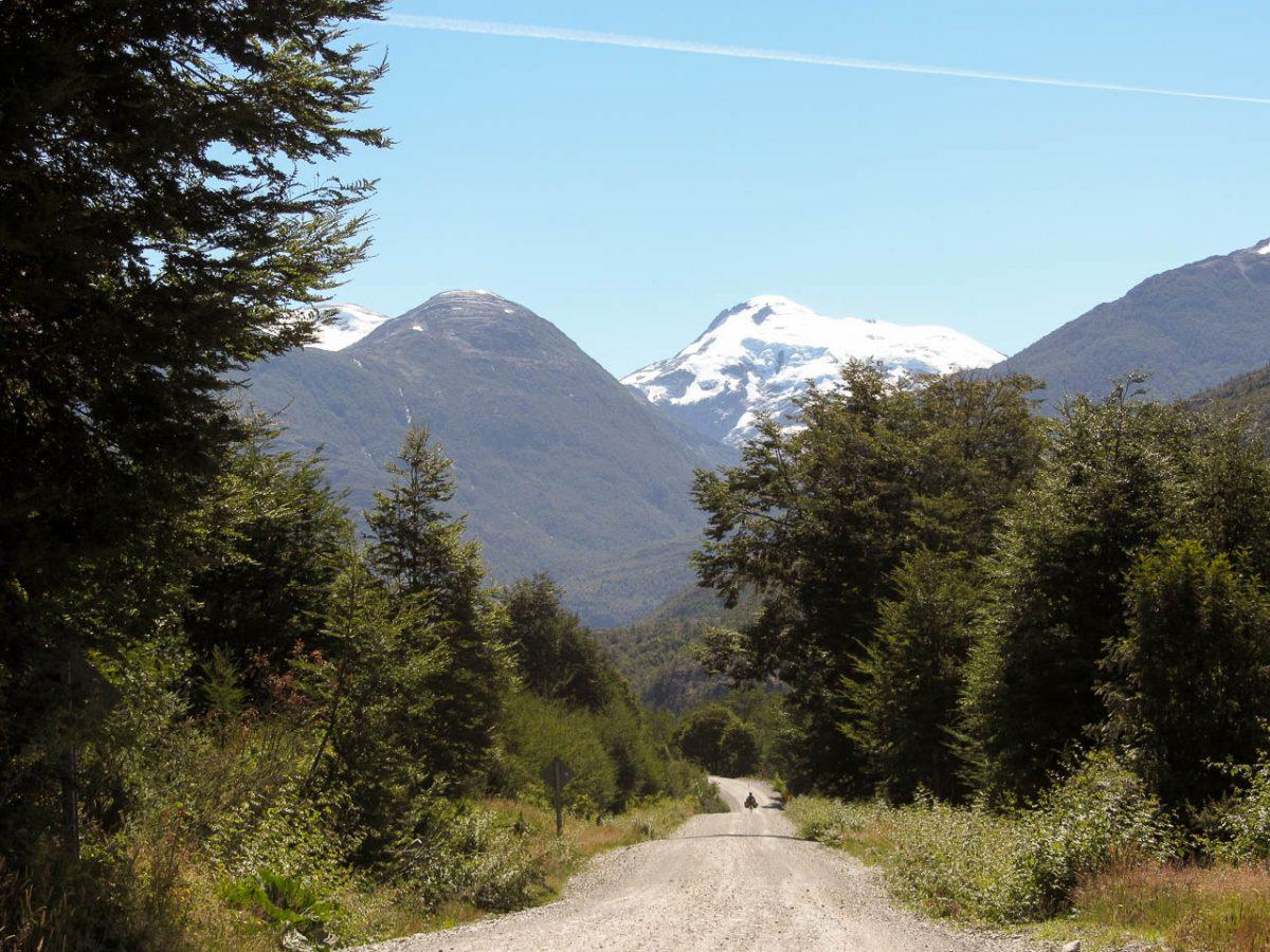 Entourés de forêts, cap sur les montagnes