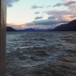 Lago O'Higgins aux aurores