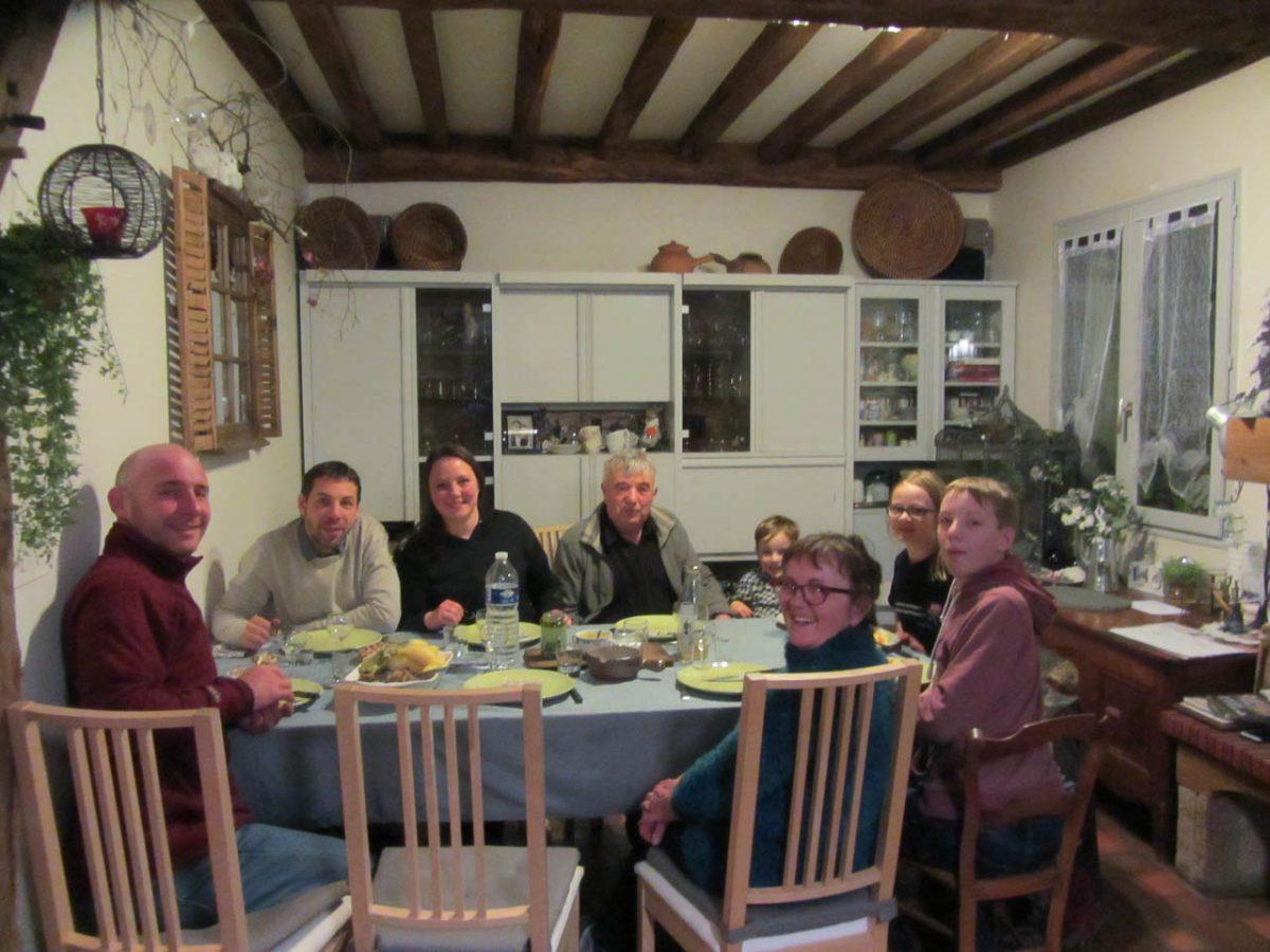 En famille à Saint-Senoux