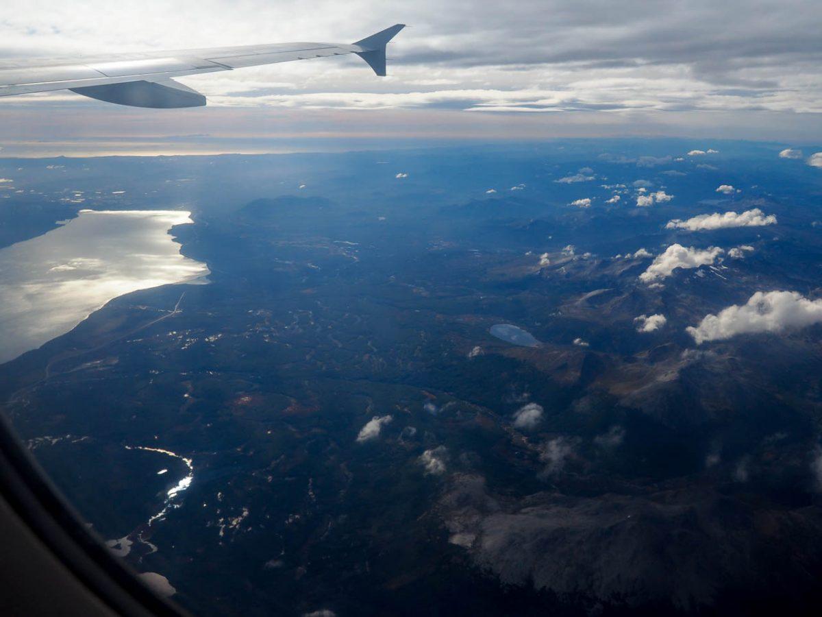 Décollage d'Ushuaïa